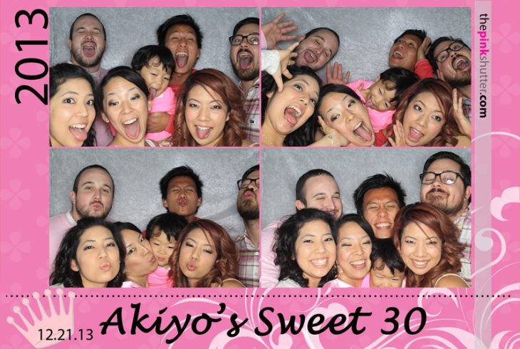 Akiyo's 30th Birthday Photobooth
