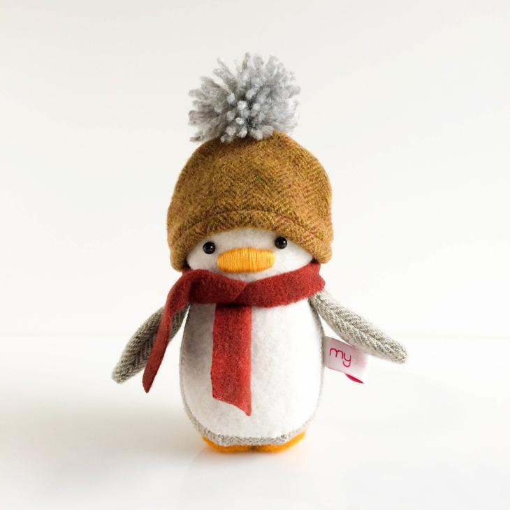 Beanie and Scarf Mini Penguin