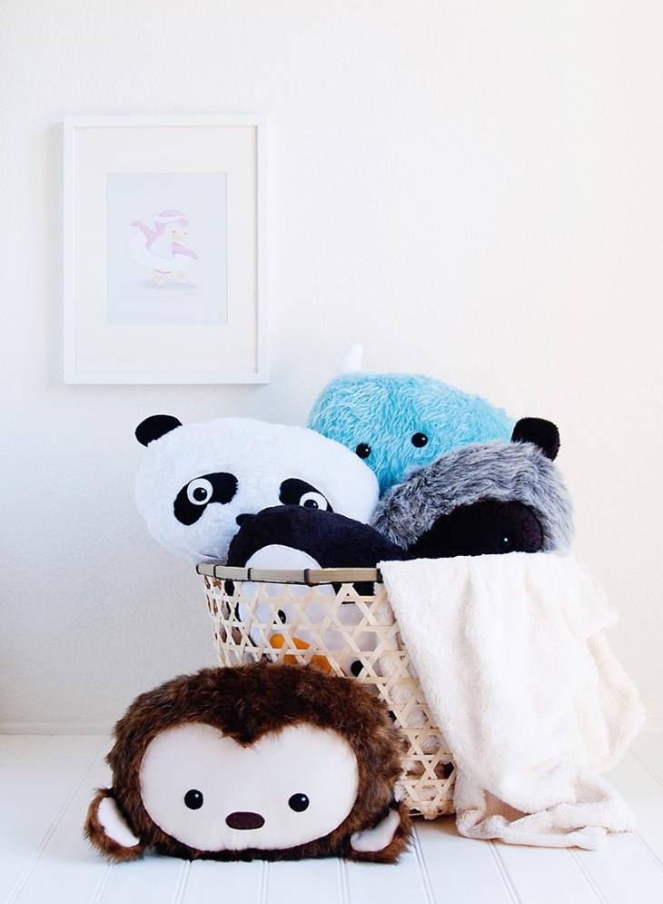 My Dear Darling Character Pillows