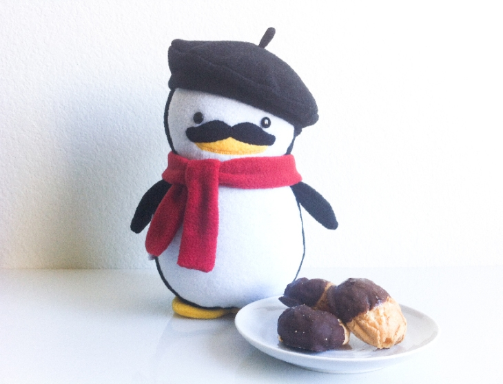 DarlingMoments_FrenchPenguinEclairs