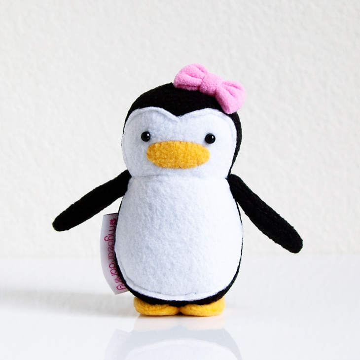 My Dear Darling Mini Penguin w Bow
