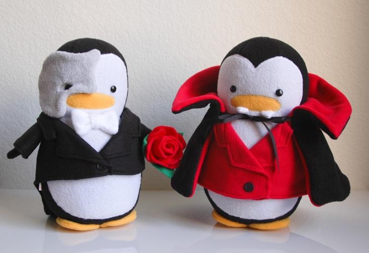 Phantom of the Opera Penguin & Vampire Penguin