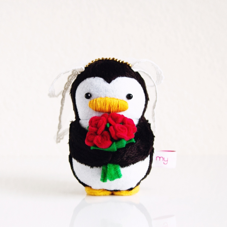 My Dear Darling Bride Penguin