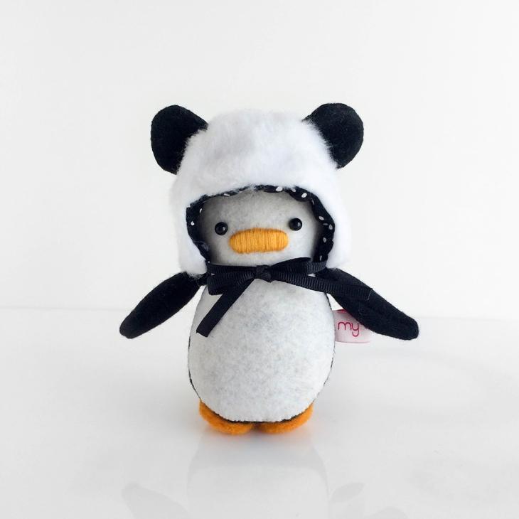 Mini Penguin Panda Hat