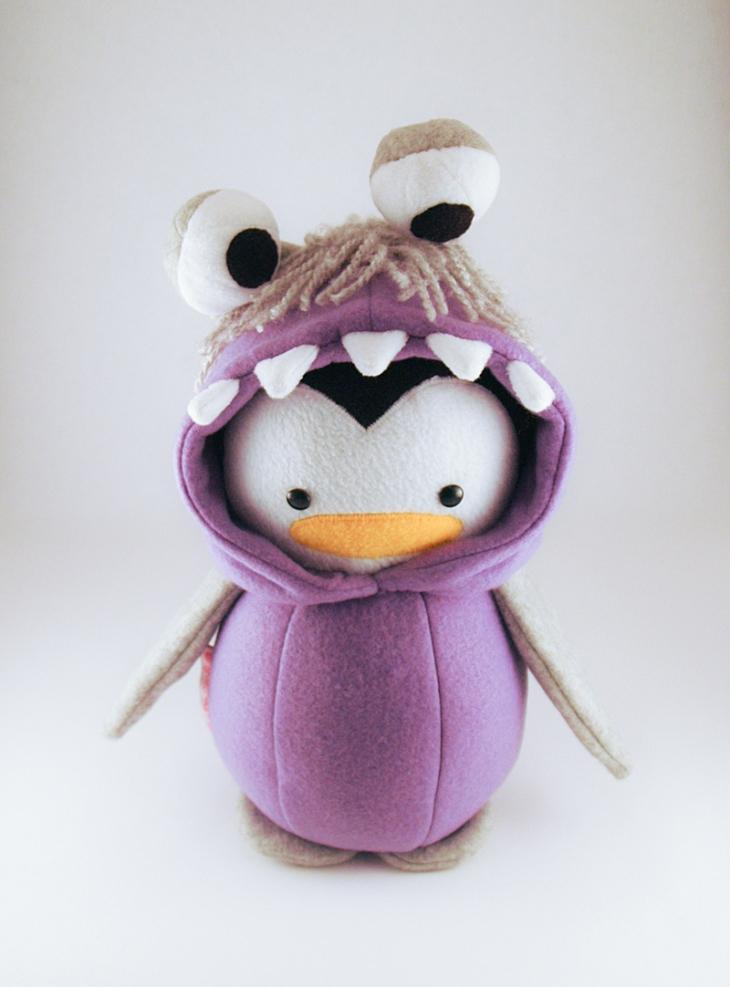 Boo Monster Penguin