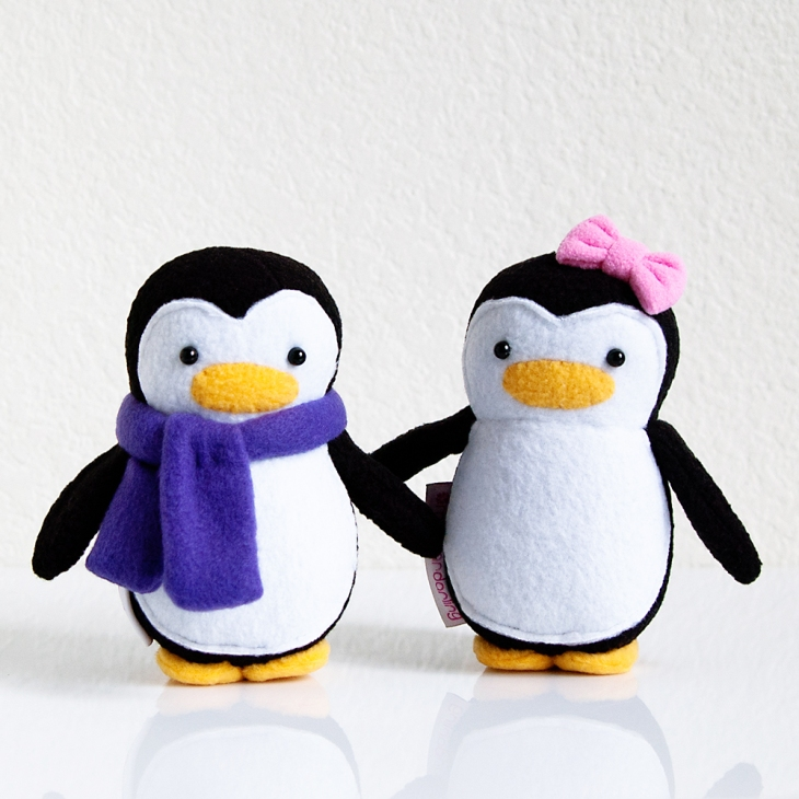 My Dear Darling Mini Penguin Couple