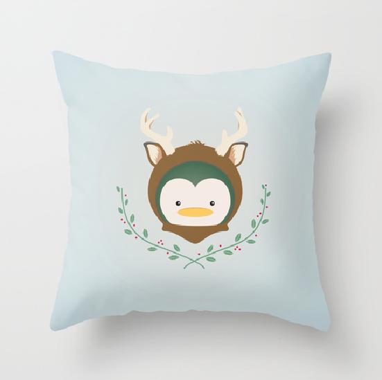 My Deer Penguin Pillow