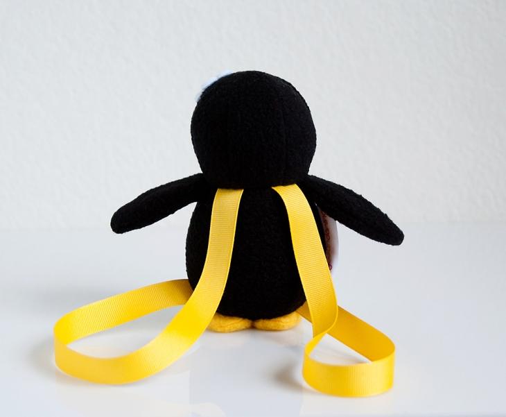 Mini Penguin Backpack