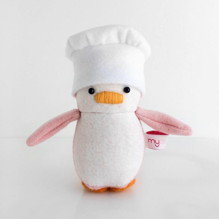 Mini Penguin Chef Hat