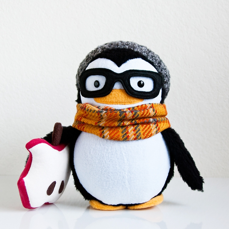 Hipster Niko the Penguin