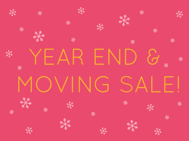 Year End Sale 2012