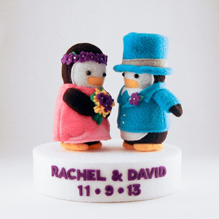 Wedding Penguins 2013