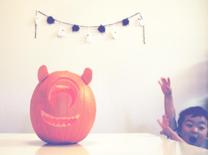 Mike Wazowski Pumpkin w Bruce