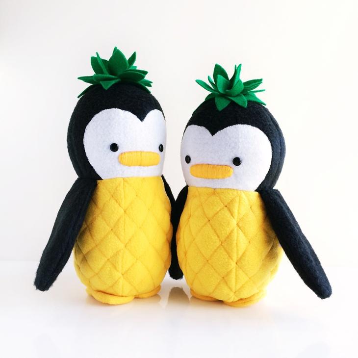 My Dear Darling Pineapple Penguins