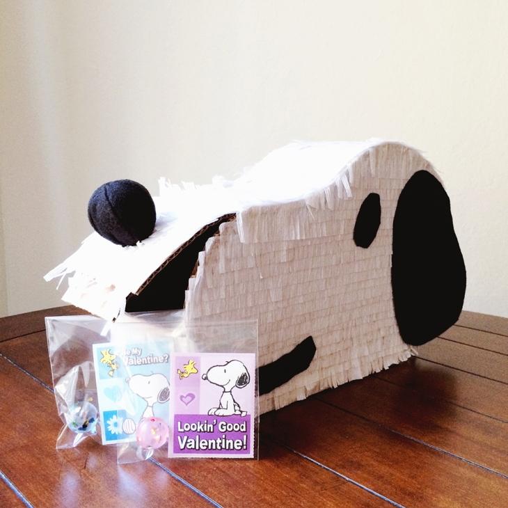 Snoopy Valentine Mailbox