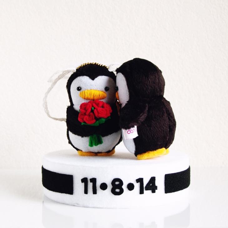 My Dear Darling Wedding Penguins