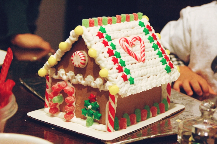 Gingerbread House Party 2012