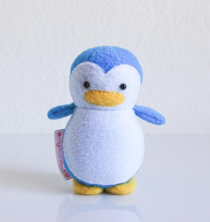 Mini Penguin Owl Blue