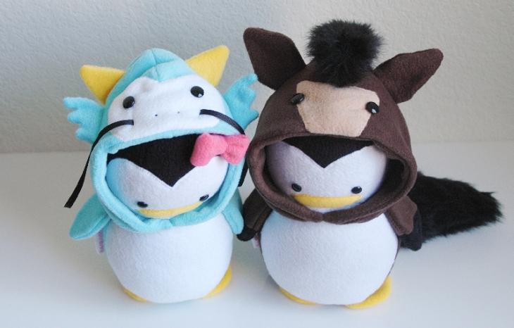 Dragon Penguin & Horse Penguin