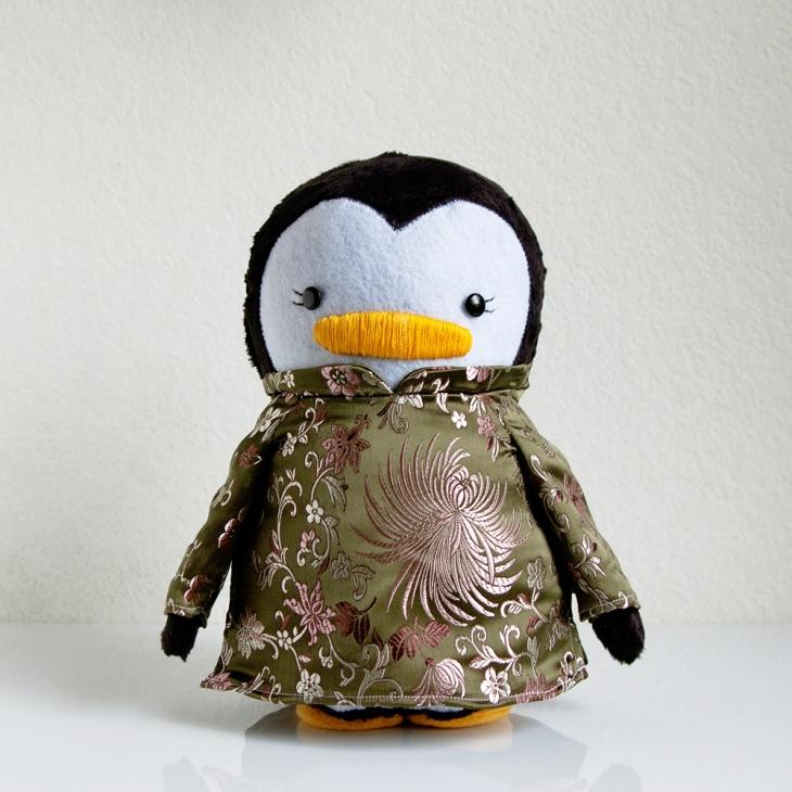 Vietnamese Ao Dai Penguin