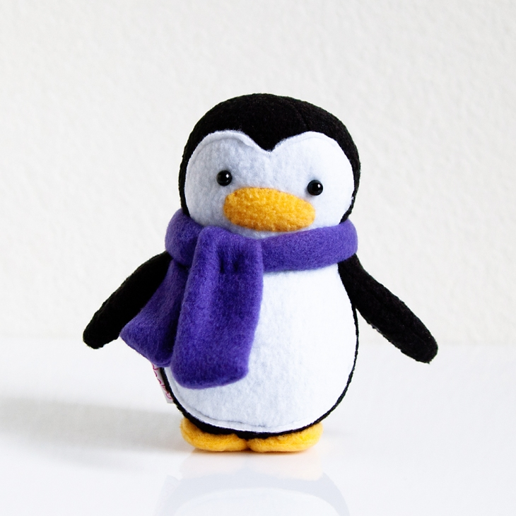 My Dear Darling Mini Penguin w Scarf